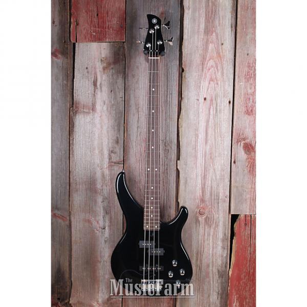 Custom Yamaha TRBX204 GLB 4 String Bass Electric Guitar with Active Preamp Galaxy Black #1 image