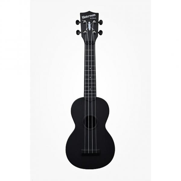 Custom Kala-Waterman Ukulele (KA-SWB-BK) Black, Matte #1 image