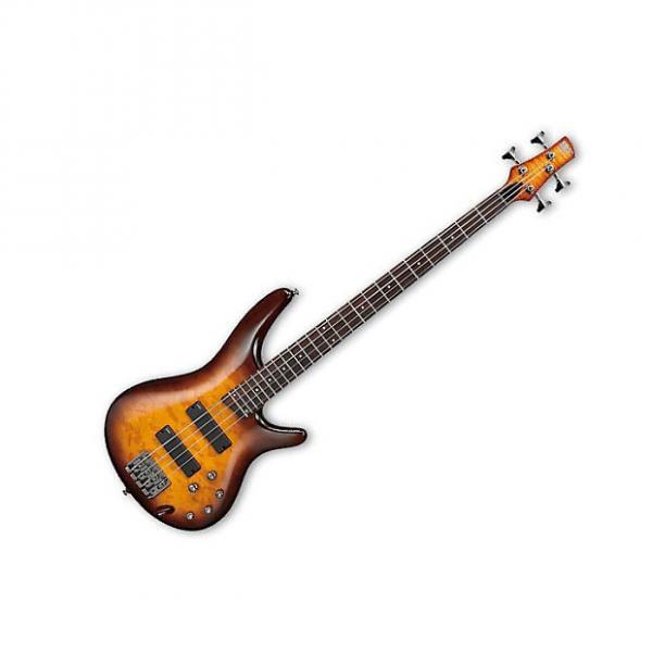 Custom Ibanez SR400EQM-BBT Limited Edition Bass Guitar Ex Display Brown Burst #1 image