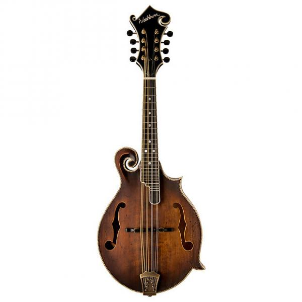 Custom Washburn  M118SWK Florentine Vintage Fstyle Mfw W/Mc92 Case #1 image