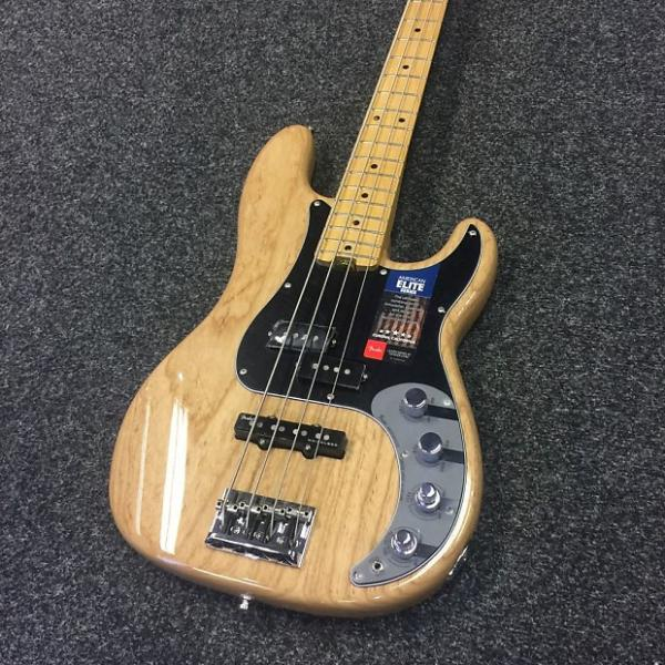 Custom Fender American Elite Precision Bass Natural + Hardcase #1 image