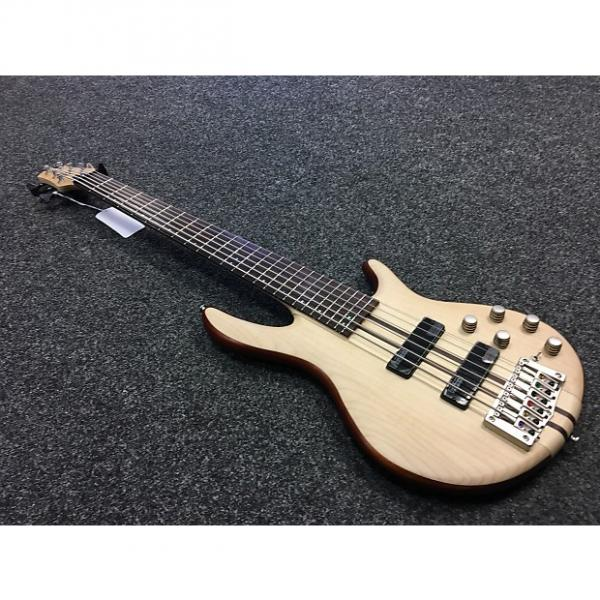 Custom Cort A6 Plus FMMH 6-String Bass Natural #1 image