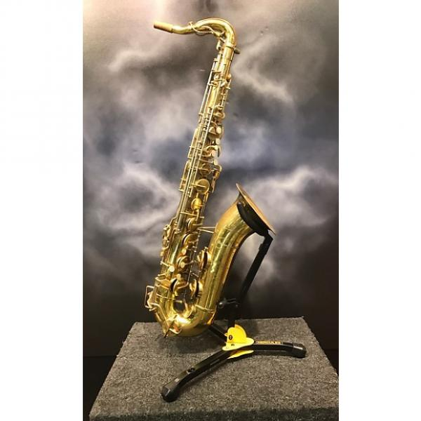 Custom Buescher Top Hat and Cane Vintage Tenor Saxophone #1 image