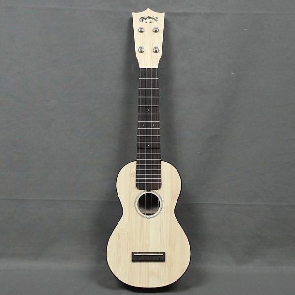 Custom NEW Martin 0X Uke Bamboo Natural Soprano Ukulele - FREE SHIP #1 image