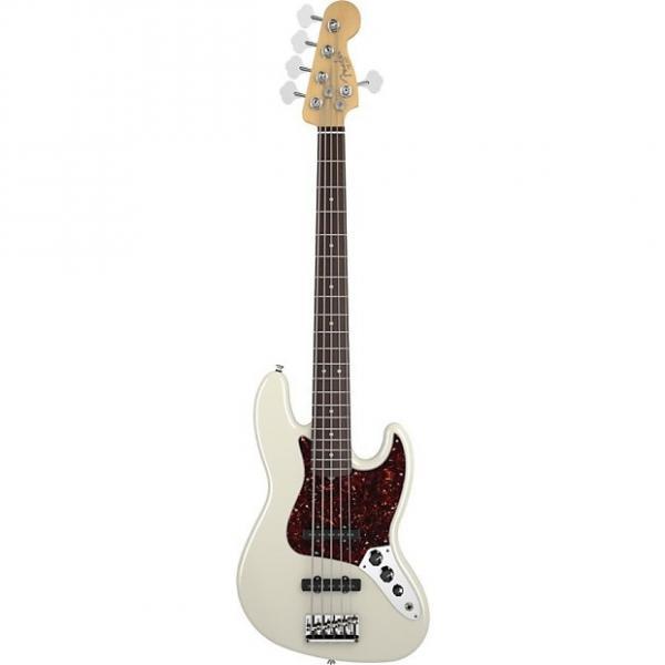 Custom Fender American Standard Jazz Bass V 5 String Electric Bass Guitar Ex Display #1 image
