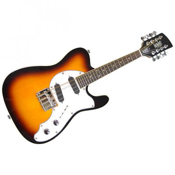 Custom Eastwood Guitars Mandocaster Vintage Sunburst #1 image