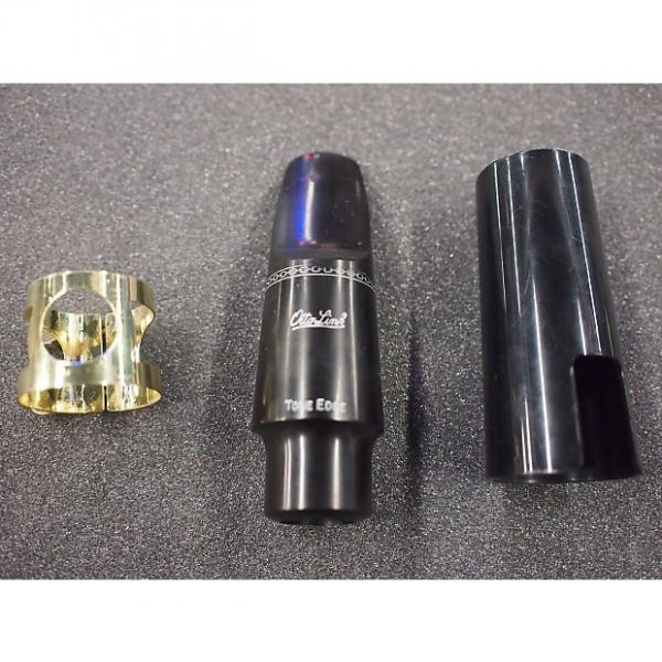Custom Otto Link Rubber Alto Saxophone Mouthpiece 7 with liguature and cap #1 image