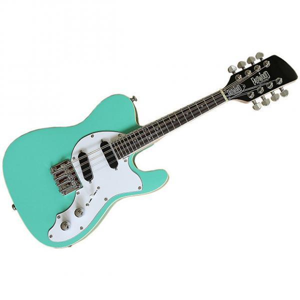 Custom Eastwood Guitars Mandocaster Seafoam Green #1 image