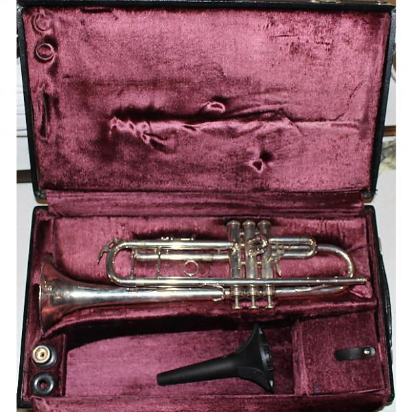 Custom King 2055T Silver Flair Trumpet 1970s #1 image