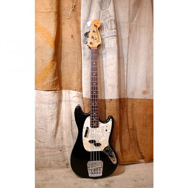 Custom Fender Mustang Bass 1975 Black #1 image