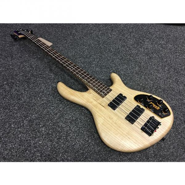 Custom Cort Action DLX Bass Natural #1 image