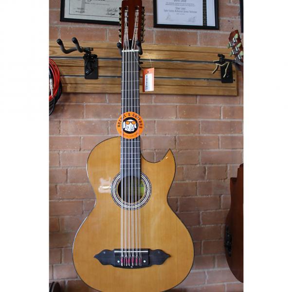 Custom Lucida Bajo Sexto - Acoustic/Electric 2016 Natural #1 image