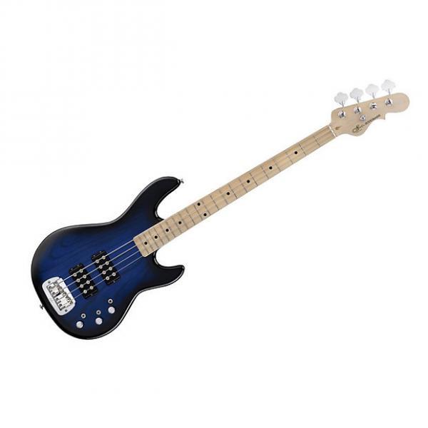 Custom G&L Tribute Series L-2000 Bass - Blueburst/Maple DEMO #1 image