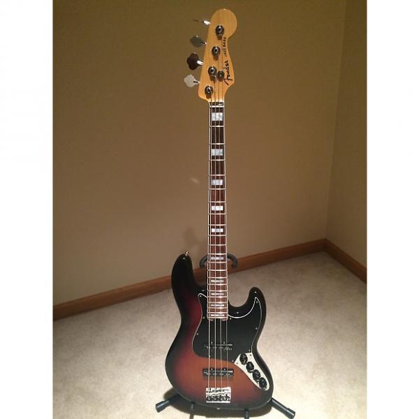 Custom Fender American Elite Jazz Bass 2015 3-tone Sunburst #1 image