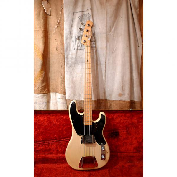 Custom Fender Precision Bass 1955 Blond #1 image