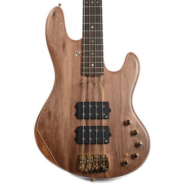 Custom Sandberg California TM-2 4 String Mahogany Back Walnut Top #1 image