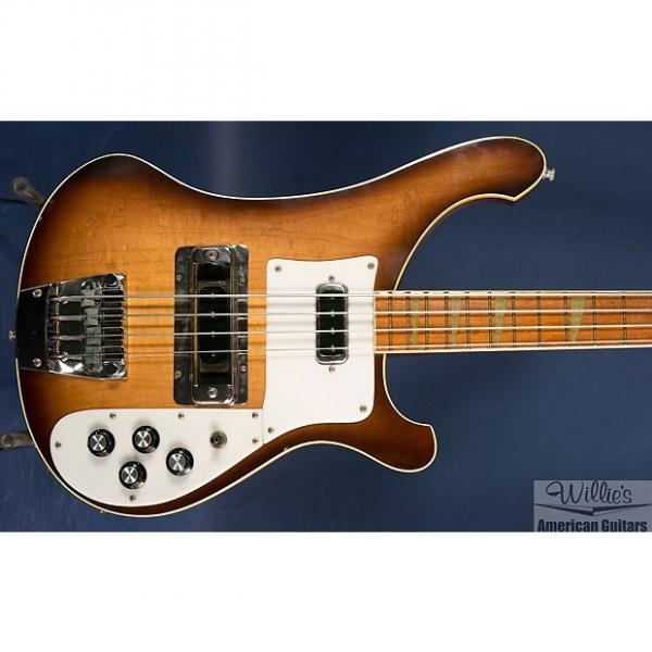 Custom 1982 Rickenbacker 4003 bass - Autumn Glo w/ OHSC #1 image