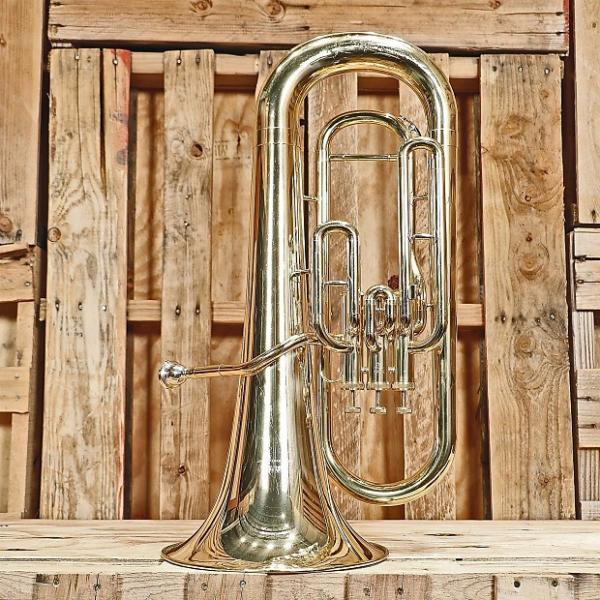 Custom Yamaha YEP-201 Standard Euphonium *Rental Inventory Closeout* 2010's Brass Lacquer #1 image