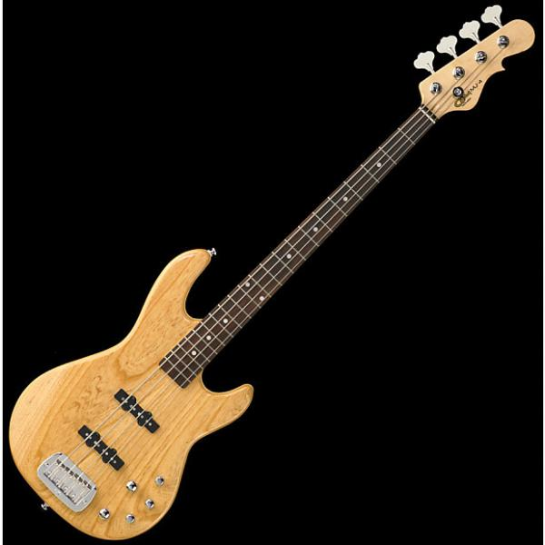 Custom G&L Tribute MJ-4 Electric Bass in Natural Finish #1 image