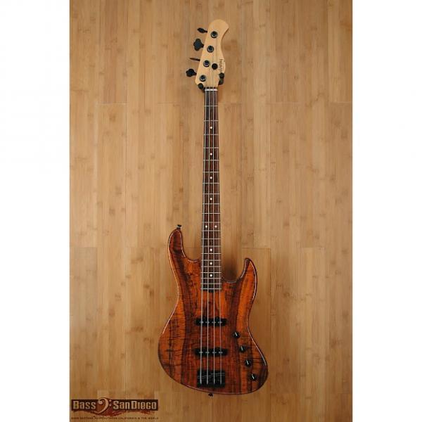 Custom Sadowsky NYC 4 String Bass Exhibition Koa #1 image