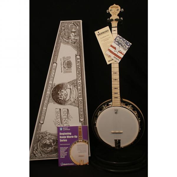 Custom Brand NEW Deering Goodtime 2 5 string resonator banjo with Geoff Hohwald instruction #1 image