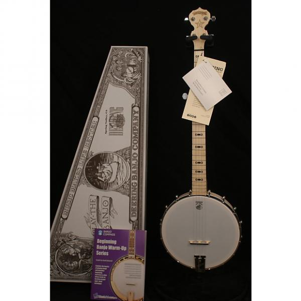 Custom Brand NEW Deering Goodtime 5 String open back banjo in box with Geoff Hohwald banjo instruction #1 image