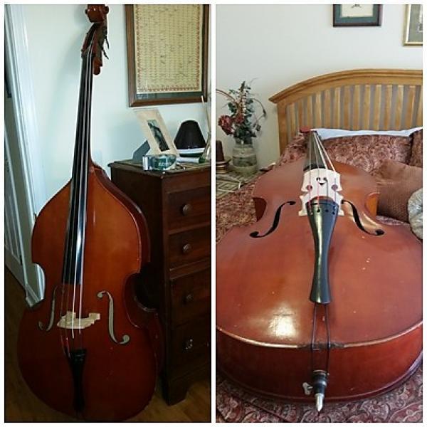 Custom Cremona Full size upright bass 1987 Aged Cherry #1 image