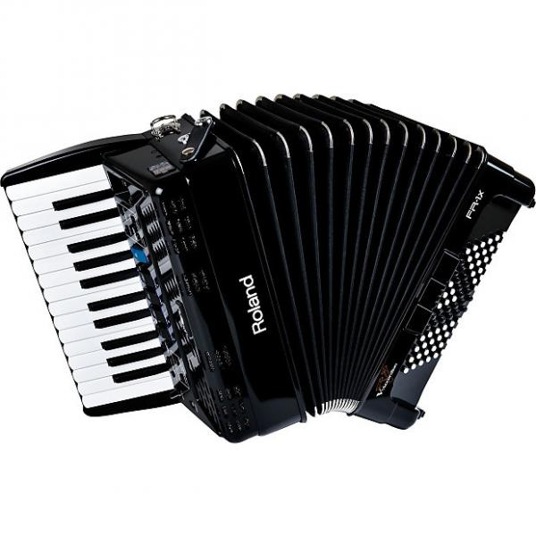 Custom Roland FR-1x-Bk Piano Type Accordion Open box #1 image