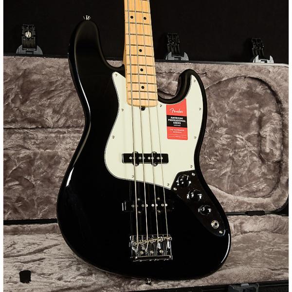 Custom Fender American Professional Jazz Bass 2016 Black #1 image