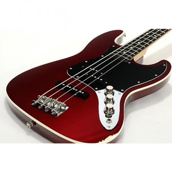 Custom Fender Japan Aerodyne Jazz Bass AJB OCR #1 image