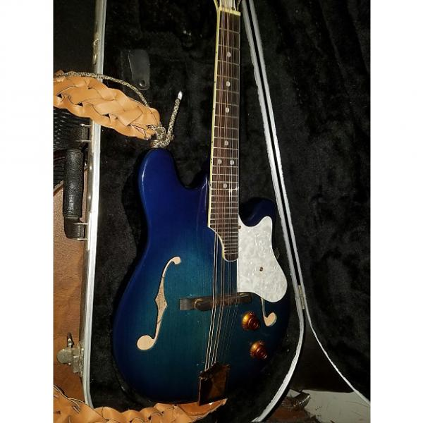 Custom Fender Mandolin FM62SCE 2000s? Blueburst #1 image