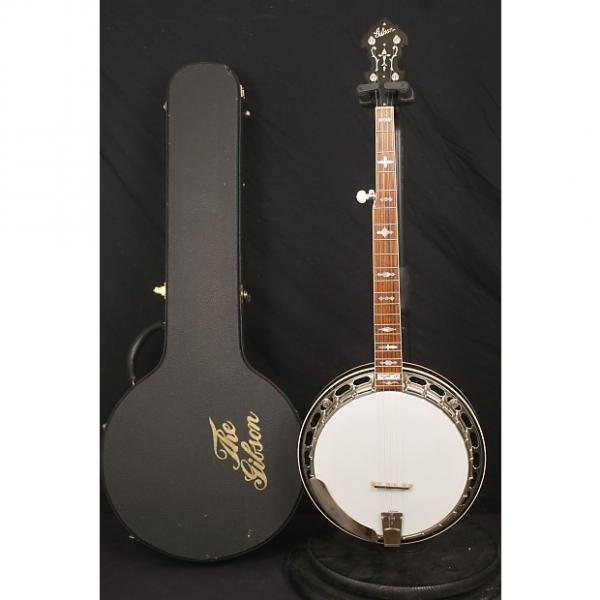 Custom Gibson USA RB3 2004 9.5+ condition Mastertone 5 string flathead banjo all original w hardshell case #1 image