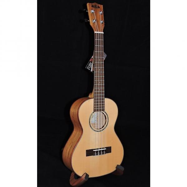 Custom Kala KA-FMTG Solid Spruce Top with Flame Maple Back and Sides #1 image