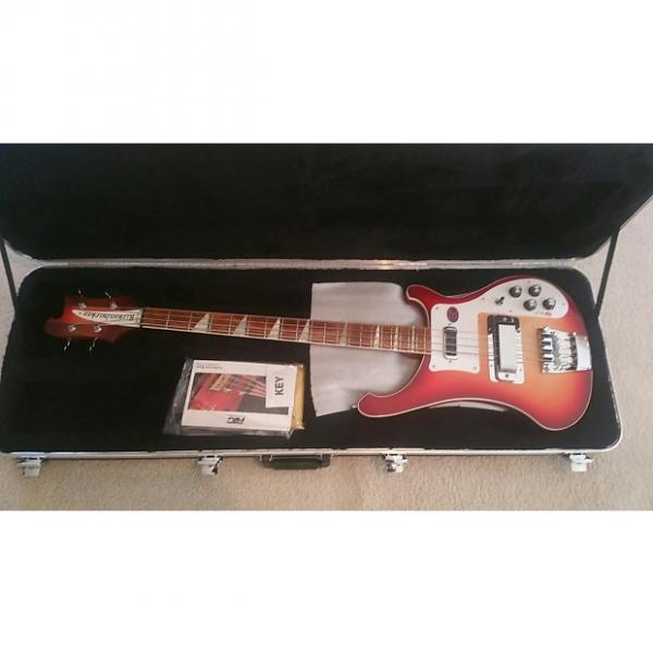 Custom Rickenbacker 4003 Electric Bass Guitar Fireglo W/OHSC #1 image