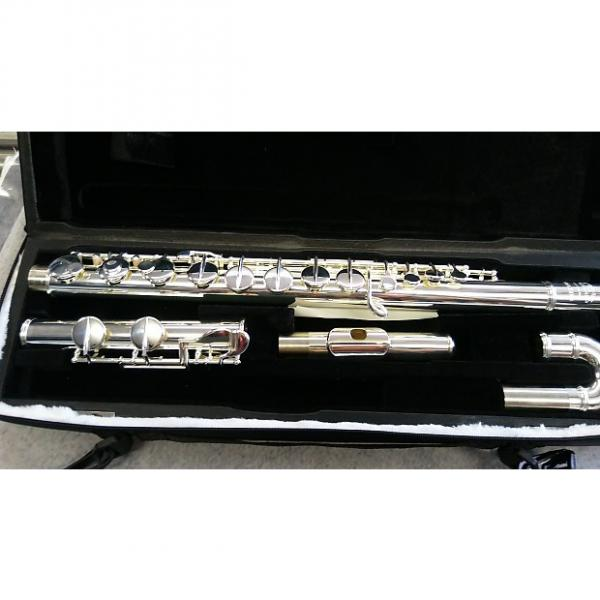Custom Amadeus AF570C Alto Flute with Curved head joint. #1 image
