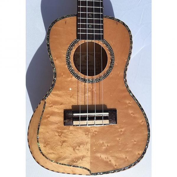 "Custom Grape ARS-04 24"" Arm-rest Premium Ukulele - Birdseye Maple #1 image"