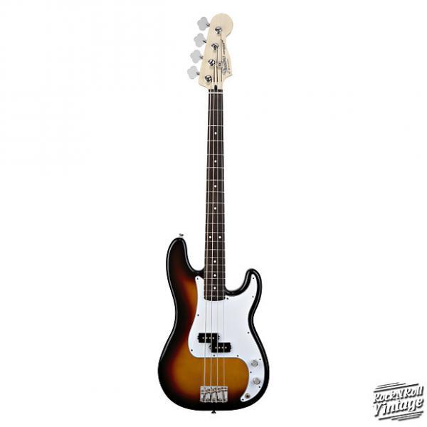 Custom Fender Standard Precision Bass Brown Sunburst / Rosewood #1 image