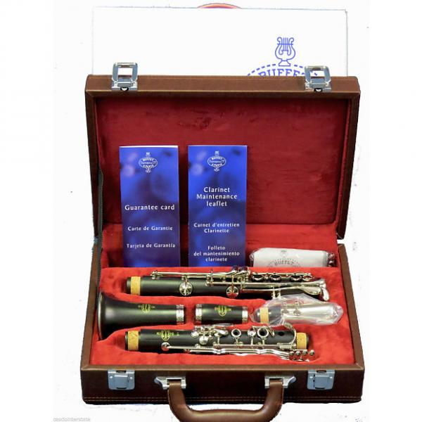 Custom Buffet Crampon BC2501N50 E-11 Wood Bb Clarinet-Nickel Keys #1 image