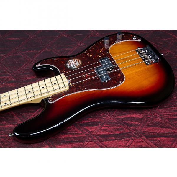 Custom Fender American Standard Precision Bass Maple neck 3 tone sunburst 031311 #1 image