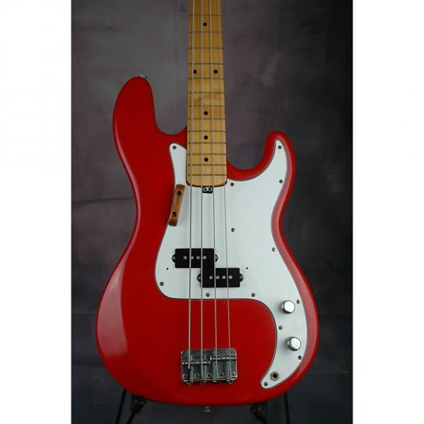 Custom Fender Style Precision Bass Red #1 image
