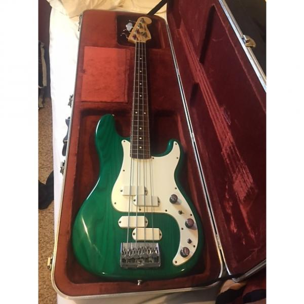 Custom Fender  Precision Elite II bass 1983 Vintage Green Free Shipping! #1 image