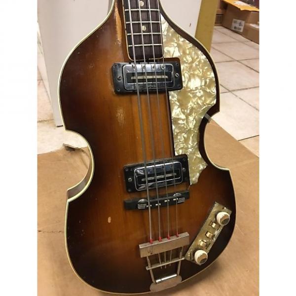 Custom Hofner 500/1 Violin Bass 1967 Sunburst #1 image