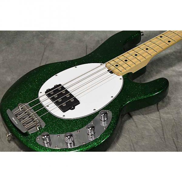 Custom MusicMan StingRay-4 Emerald Green #1 image