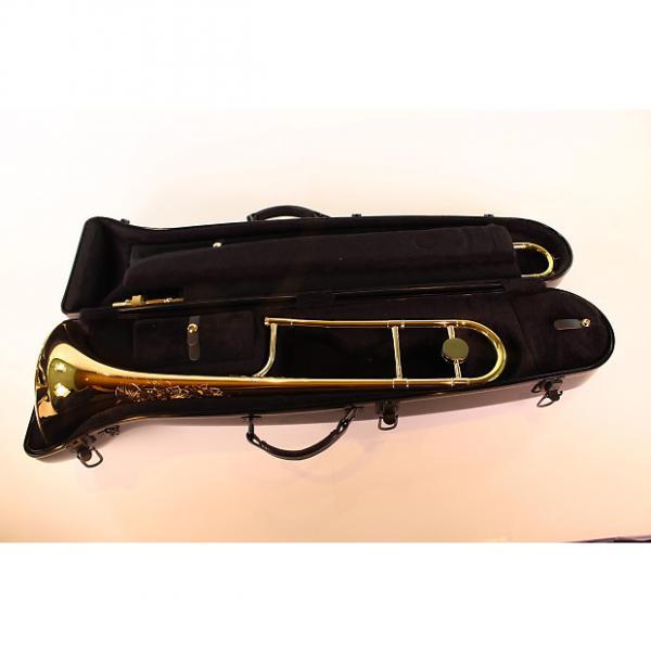 Custom King 3BLG Professional .508 Bore Trombone Gold Brass Bell Lightweight Slide MINT #1 image