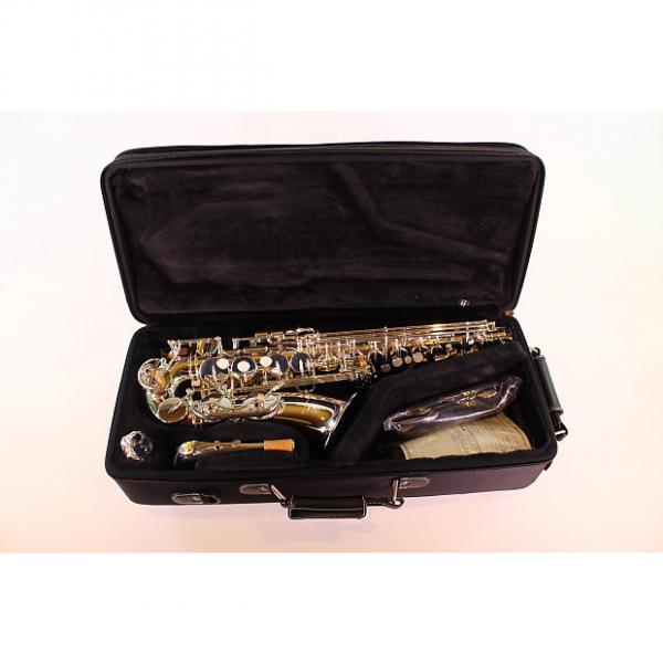 Custom Yamaha YAS-62IIIS Professional Alto SAxophone in SILVER PLATE! MINT #1 image