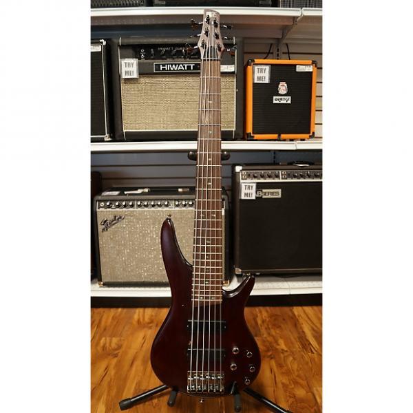 Custom Ibanez SR506 Brown Mahogany 6 string bass w/OSHC Made in KOREA! #1 image