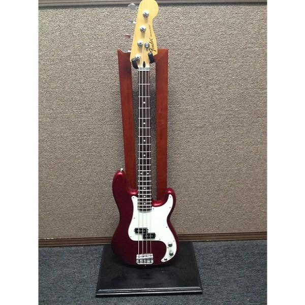 Custom Fender Standard Precision Bass 2014 Candy Apple Red Mexican Made Sales Floor Model #1 image