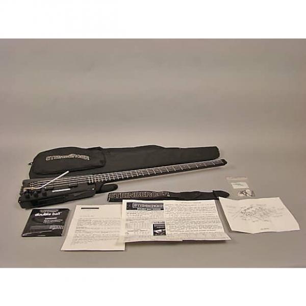 Custom 1988 Steinberger XL2T Bass XL2T 1988 Black #1 image