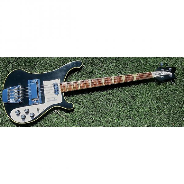 Custom 1972 Rickenbacker 4001  Jetglo (Black) with Earlier Features *REDUCED* #1 image