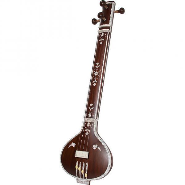 "Custom banjira 42"" Deluxe Tanpura Flat Back 4 String and Gig Bag BLEMISHED 1 #1 image"